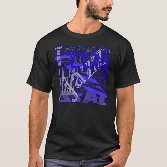 Jazz Blue on Blue T-Shirt