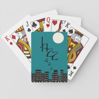 Jazz (blue) playing cards