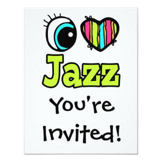 Jazz brillante del amor del corazón I del ojo Anuncios Personalizados
