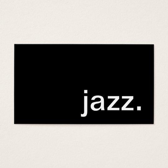 Jazz Business Card