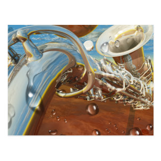 Jazz by Lenny Postcard