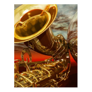 Jazz by Lenny Postcard