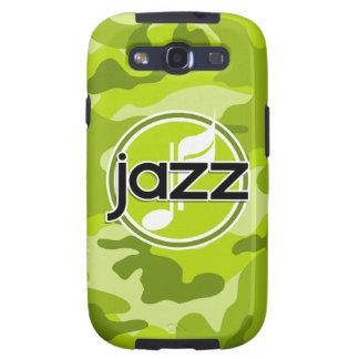 Jazz; camo verde claro, camuflaje galaxy SIII carcasas