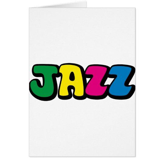 Jazz Card