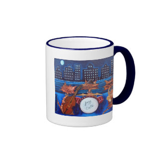 Jazz Cats Coffee Mug