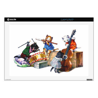 Jazz Cats Decals For Laptops