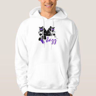 Jazz Cats Hooded Pullover