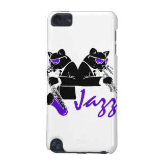 Jazz Cats iPod Touch 5G Cases
