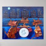 Jazz Cats Print