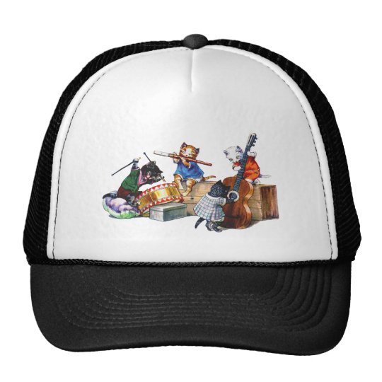 Jazz Cats Trucker Hat