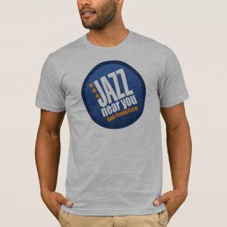 Jazz cerca de usted camiseta básica unisex de San