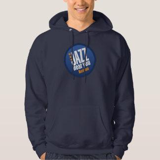 Jazz cerca de usted ropa de Boston Sudadera Encapuchada