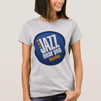 Jazz cerca de usted señoras de Boston ligeras Playera
