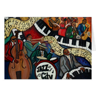 Jazz City Card
