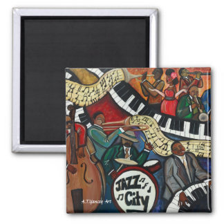 Jazz City Magnet