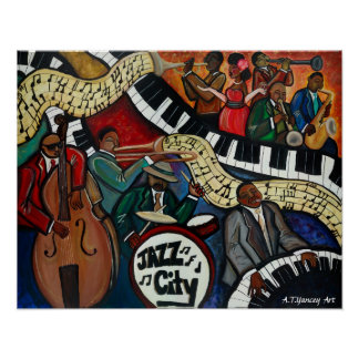 Jazz City Poster