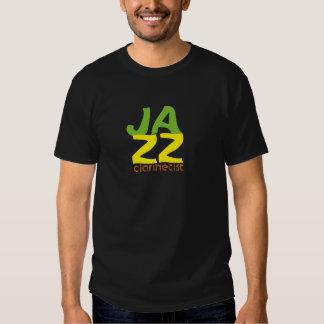 Jazz clarinetist shirt