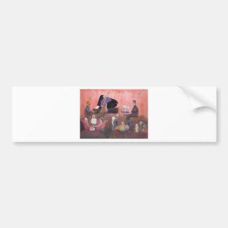Jazz Club Bumper Sticker