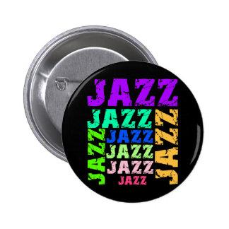 Jazz colorido y fresco pin