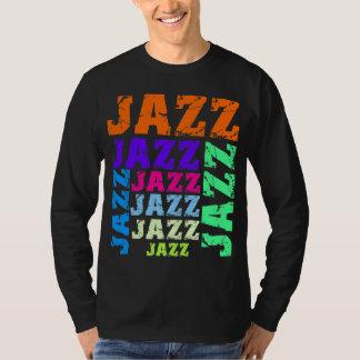 Jazz colorido y fresco playeras