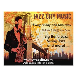 Jazz Concert Music Flyer