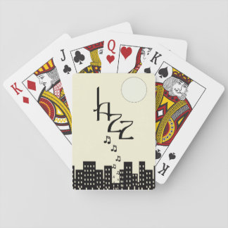 Jazz (creamy) playing cards