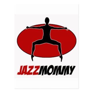 jazz DANCE DESIGNS Postcard