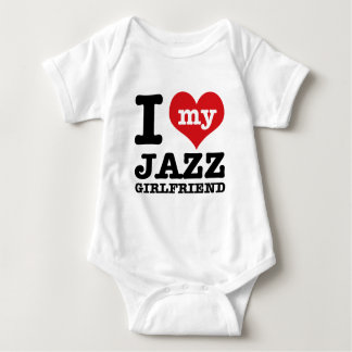 Jazz dance Girlfriend designs Baby Bodysuit