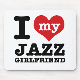 Jazz dance Girlfriend designs Mouse Pad