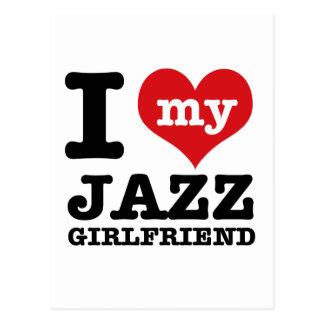 Jazz dance Girlfriend designs Postcard