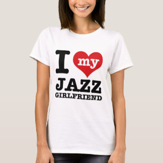 Jazz dance Girlfriend designs T-Shirt