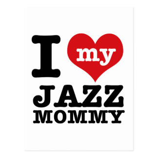 Jazz dance Mom designs Postcard