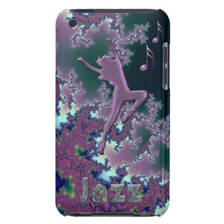 Jazz Dance Purple Fractal iPod Touch Case