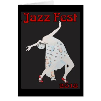 Jazz Dancer 2018 Card