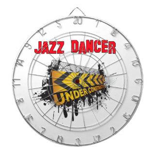 Jazz Dancer under construction Dart Board