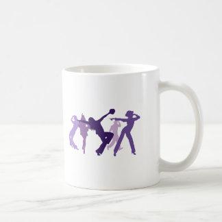 Jazz Dancers Illustration Coffee Mug