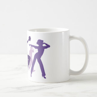 Jazz Dancers Illustration Coffee Mug