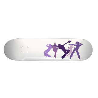Jazz Dancers Illustration Skateboard Deck