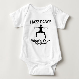 Jazz Dancing designs Baby Bodysuit