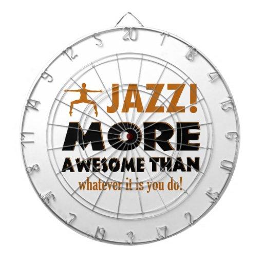 Jazz dancing designs dart boards