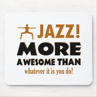 Jazz dancing designs mouse pad