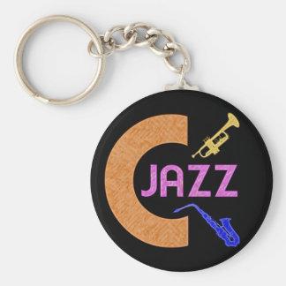 Jazz de C Llavero Personalizado