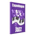Jazz de Copenhague Lona Estirada Galerías
