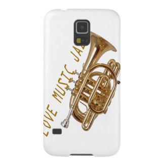 Jazz de la música del amor funda de galaxy s5