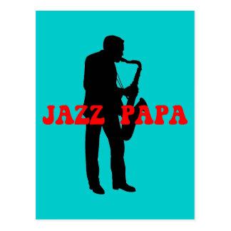 Jazz de la papá del jazz postal