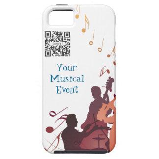 jazz de la plantilla del caso del iPhone 5 iPhone 5 Carcasas