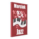 Jazz de Marciak Impresiones En Lona Estiradas