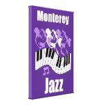 Jazz de Monterey Impresion De Lienzo