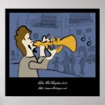 Jazz de New Orleans Poster