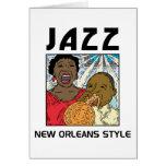 Jazz de New Orleans Tarjetas